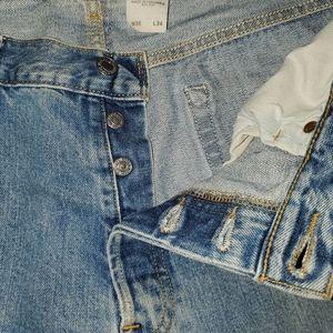 """Levi's 501 36""""34"""" men's button fly jeans"""